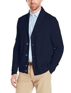 Nautica-Men-039-s-Cardigan-Shawl-Collar-Sweater-150-00-Various-sizes