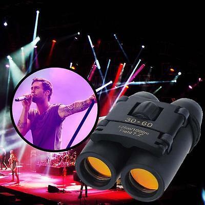 Hot Day Night Vision Outdoor Folding Binoculars Telescope + Case 30 x 60 Zoom