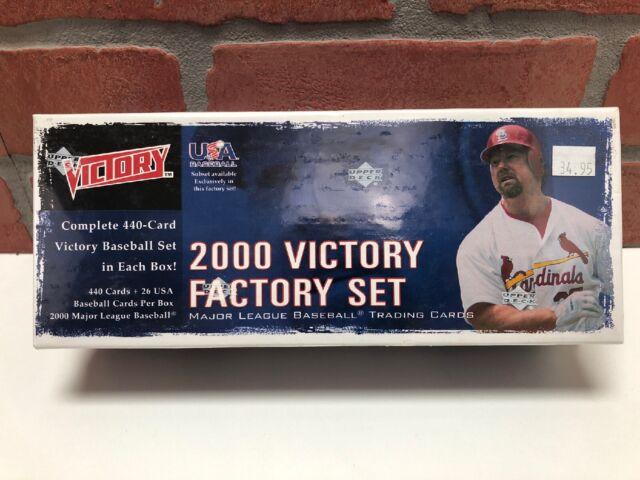 2000 Upper Deck Victory Baseball Factory Set Sealed