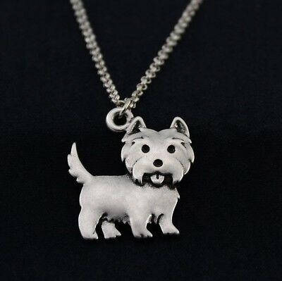 Labradoodle Pendant Necklace Silver ANIMAL RESCUE DONATION