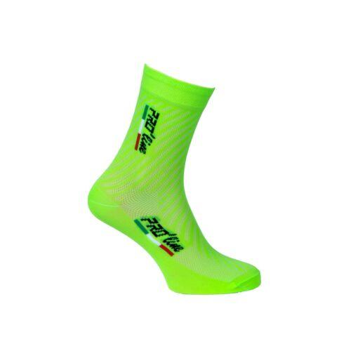 Pro /'Line Stockings Socks Cycling Bike Bicycle Neon Green Cycling Socks 1 Pair