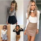 Fashion Women Casual Long Sleeve Knitted Sweater Jumper Cardigan Tops Knitwear