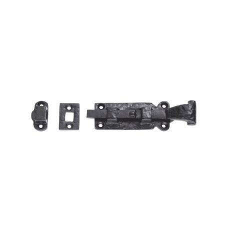 Carlisle brass-LF5530-ludlow noir antique droite barrel bolt empaquetage au détail