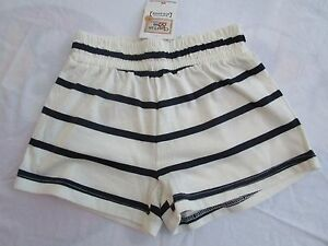 Girls-striped-knit-Charlie-amp-Me-shorts-Size-8-NWT
