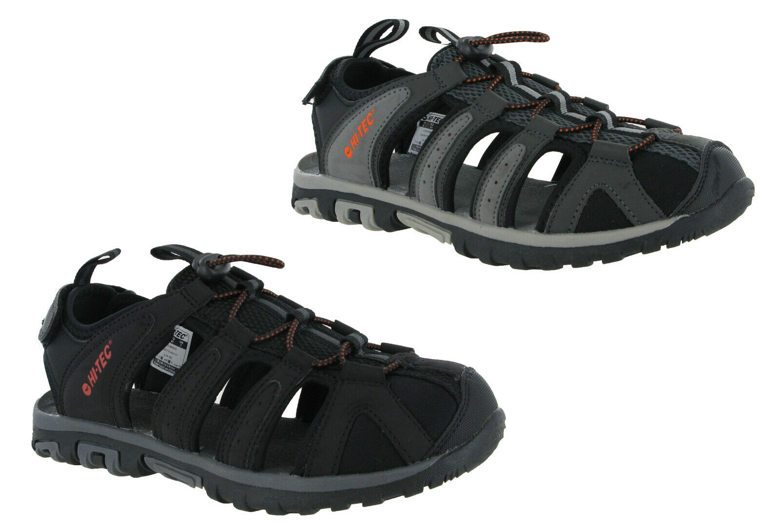 Hi-tec Hiking Closed Toe Sandals Walking COVE BREEZE Mens Toggle Fasten UK7-12