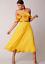 Virgos Lounge Bright Ebonee Floral Embellished Off Shoulder Party Dress 10 to 16