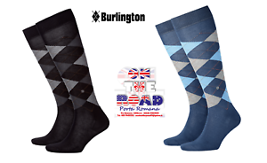 Discount-30-BURLINGTON-Socks-Tights-Manchester-21782-Socks-Long-Cotton-Rhombus