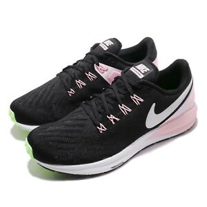 d20d3a7167d Nike Wmns Air Zoom Structure 22 Black Pink Foam Women Running Shoes ...