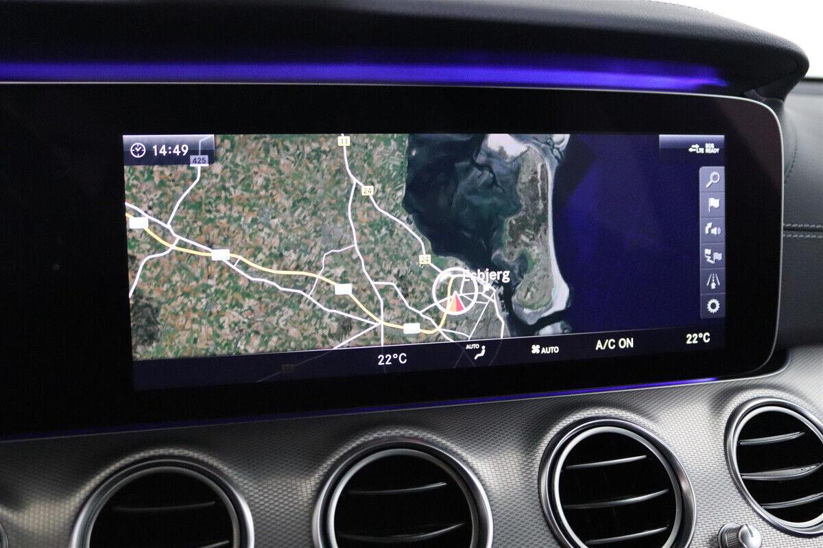 Mercedes E350 d 3,0 AMG Line stc. aut. - billede 15