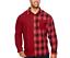 Foundry-men-Big-Tall-Red-Plaid-Mashup-Flannel-shirt-XLT-2XL-3XL-2XLT-3XLT-4XLT thumbnail 1