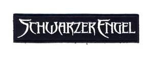 SCHWARZER-ENGEL-Logo-Aufnaeher-Patch-Neu-6900