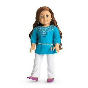 American-Girl-Saige-doll-of-the-year-2013-tunic-outfit-NEW-in-original-AG-box