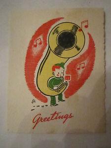 MILT GROTH GREETING CARD NO. 10533 - TUB Q