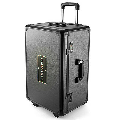 Realacc Aluminum Trolley Case Pull Rod Hand Box Case for DJI Phantom 3 US SELLER