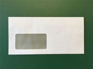 Briefumschlaege-Umschlag-Brief-DIN-lang-110-x-220mm-selbstklebend-mit-Fenster