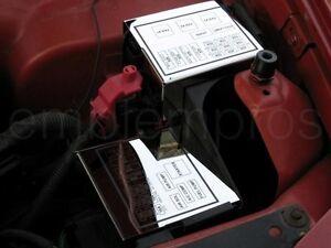 99 camaro fuse box 98-02 camaro firebird trans am formula, etched stainless ... #14