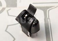 Us Stock 1x Black Sun Visor Mount Clip Holder For Mercedes R129 Sl Class Sl500