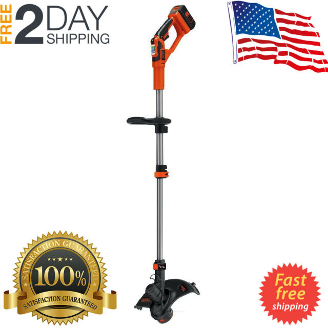 Best Cordless String Trimmer 2020.Cordless String Trimmer Weed Whacker 40v Max Edger 13 Inch Lst136w