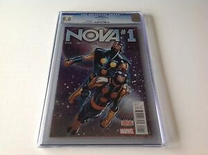 NOVA-1-CGC-9-8-WHITE-PAGES-HUMBERTO-RAMOS-COVER-MARVEL-COMICS