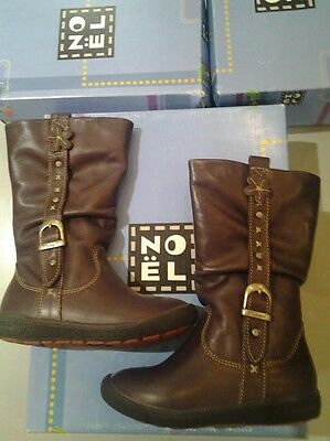 NOEL PLUMET LEATHER BOOTS IN VIOLET RRP £62.95 JANUARY CLEARANCE NOW £9.99