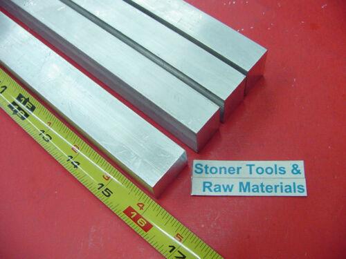 "4 Pieces 3//4/"" X 1/"" ALUMINUM 6061 FLAT BAR 16/"" long Solid New Mill Stock .75/""x1.0"