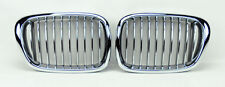 Chrome Front Hood Kidney Sport Grills FITS BMW 5 Series E39 97-03