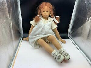 Heidi Plusczok Künstlerpuppe Vinyl Puppe 68 cm. Top Zustand