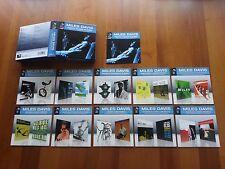 "MILES DAVIS RARE BOX 10 MINI LP CDS ""TWENTY CLASSIC ALBUMS"" (20 ORIGINAL ALBUMS)"