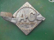 Allis Chalmers D14 Tractor Original Ac Chrome Emblem Medallion Fr Steering Wheel