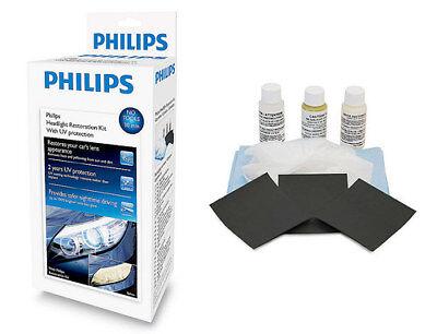 Kit complet pro rénovation rénovateur phare feux optique Philips protection UV