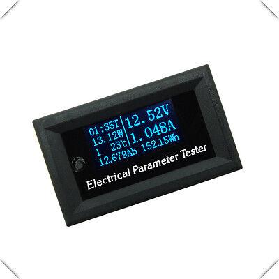 wattmetro voltmetro amperometro misuratore di energia dc multifunzione domotica