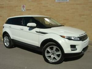 2013 Land Rover Range Rover Evoque Pure AWD. WOW! Only 123000 Km! Loaded!