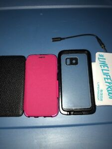 Lot-Of-3pc-Lifeproof-Case-Adopted-Case-Tech21-Case-for-Samsung-Galaxy-S6