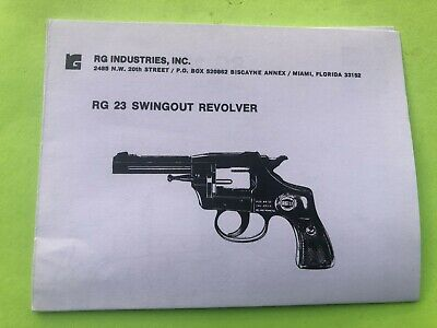 Smith /& Wesson Model 23 Revolver 38//44 Use /& Maintenance Manual Parts