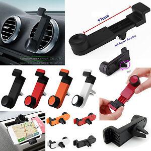 Mount-Cradle-Portable-New-GPS-Navigation-Car-Mobile-360-Bracket-Air-Vent-Holder