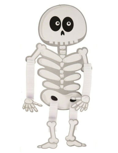 Spooky Halloween Skeleton 104cm Paper Hanging Character Party Home Decoration