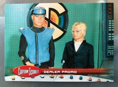 Unstoppable 2017 Gerry Anderson CAPTAIN SCARLET 50 YEARS PROMO Trading Card PR1
