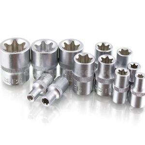 BITUXX-Nusssatz-12tlg-Torx-Vielzahn-Innen-Inbus-Imbus-Bit-Steck-Nuesse-Werkzeug