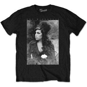 Amy-Winehouse-Fiore-Ritratto-Ufficiale-Merce-T-Shirt-M-L-XL-Nuovo