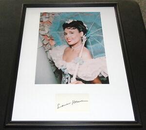 Lena-Horne-Signed-Framed-16x20-Photo-Display-JSA-Stormy-Weather
