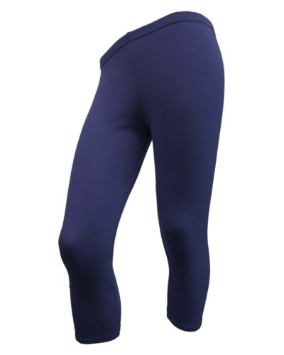 COTTON LYCRA 3//4 UNDER KNEE STRETCHY LOVELY SOFT ACTIVE//CASUAL//SPORT LEGGING