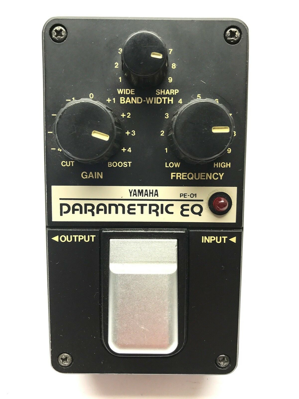 Yamaha PE-01, Parametric EQ, Made In Japan, 1980's, Vintage Effect Pedal