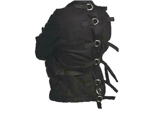 5XL XXXXXL Restraint Strait  Straight Jacket Black