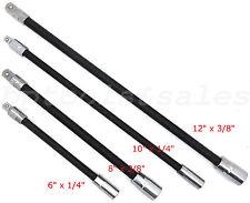Flexible Extension Bars Long Socket 6 8 10 12 Ratchet Flex 14 Amp 38 Drive