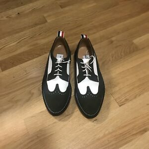 54496bf2db1 Thom Browne Men s Shoes Brogue Size 8 Suede Leather Funmix