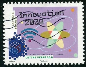 France Autoadhesif Oblitere N° 1068 France Industrielle / Innovation 2030 Non Repassant