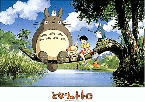Ensky My Neighbor Totoro Fishing on Tree Jigsaw Puzzle (500-Piece)
