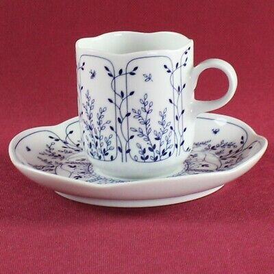 weiß Baronesse Tirschenreuth Kaffeetasse mit Untertasse