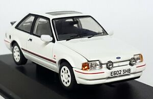 Vanguards-1-43-Scale-Ford-Escort-MK4-XR3i-Diamond-White-Diecast-Model-Car