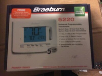Universal 7 5-2 Day or Non-Programmable 3H//2C BRAEBURN 5220 Thermostat